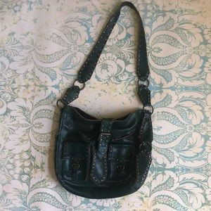 Betsey Johnson saddle bag!